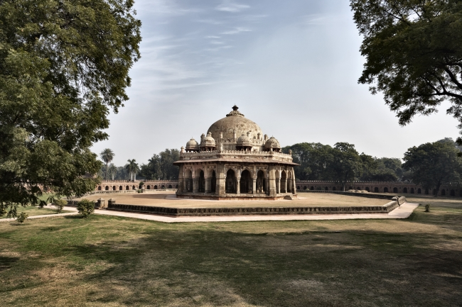 The Tomb of Humayun in Delhi