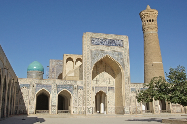A scene from Bukhara perhaps the original home of our tea pot