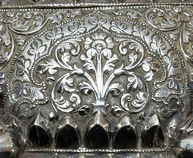 indian silverwork and raj silver